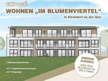 """Wohnen """"Im Blumenviertel"""" in 88457 Kirchdorf an der Iller (222)"""