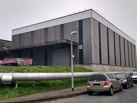 1.000 m² Halle mitten in Essen, Regalsystem optional