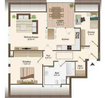 Neue komfortable Eigentumswohnung in Uninähe