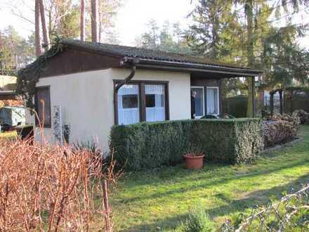 Ferienhaus auf eigenem Grund zuzüglich Wassergrundstück nahe 16775 Zabelsdorf