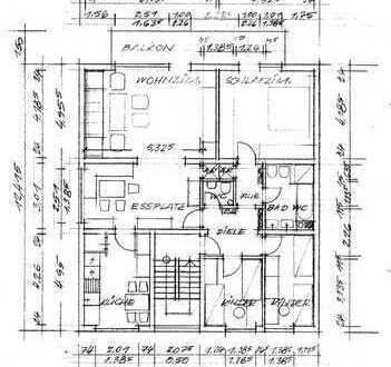 Preiswerte, vollständig renovierte 6-Zimmer-Wohnung mit Balkon in Burbach-Holzhausen