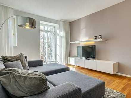MÖBLIERT   Erstbezug nach Sanierung  2-Zimmer-Wohnung in Sendling