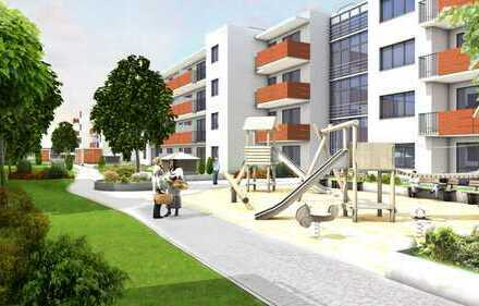 Wohnpark Heidenauer Straße: 2-Zimmer-Wohnung Terrasse - Erstbezug