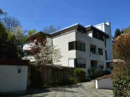 Direkt am Isarhochufer - Schöne und absolut ruhige 4-Zimmer-Eigentumswohnung in München-Harlaching