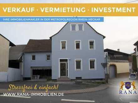 2 Familienhaus mit Balkone, Garage u. Hof · Wohnen und/oder wohnen lassen