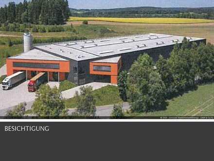 Neubau - Großzügige Industrie-Stahlbauhalle in Elterlein / Erzgebirgskreis