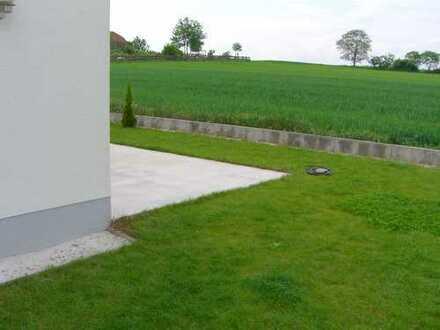 Feldrandlage - Moderne DHH im Neubaugebiet Ober-Olm (Garage,Stellplatz,Garten,Terrasse,EBK & Balkon)