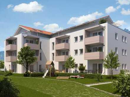 """Neubauprojekt Bayerisch Gmain """"Haus Untersberg"""" 3-Zimmer-Wohnung im 1.Obergeschoß mit Lift"""