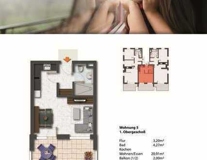 NEUMANN - Schönes Apartment in einem KfW55- Neubauwohnensemble