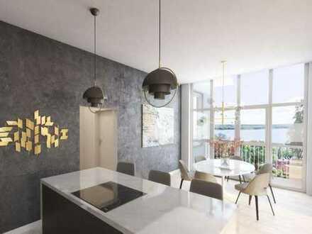 Charmante 2-Zimmer-Wohnung mit 42 m² großer Terrasse nahe Schweriner See