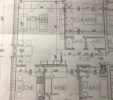 Gepflegte 3-Zimmer-Wohnung mit Balkon in Greven