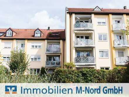 Sonnige 3-Zimmer-Wohnung mit Süd/West-Loggia und klassischem Grundriss in Unterschleißheim