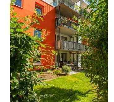 4 Zimmer Gartenwohnung (EBK, U-Bahn, Parkett)