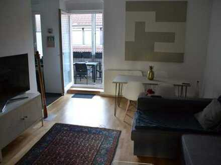 KA-Durlach-Bahnhofsnähe / helle & sanierte 3-Zimmer-Wohnung mit Balkon / ab 01.09.2019