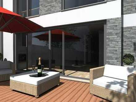 Individuell geplantes Stadthaus mit riesiger Dachterrasse in Gohlis-Süd