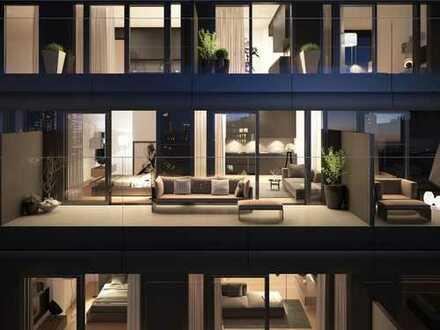Style trifft Leben: 2-Zimmer-Wohnung mit Terrasse und Einbauküche im OMNITURM