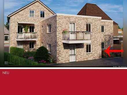 Noch zentraler geht es nicht, Neubau Erdgeschosswohnung in Heek sucht Erstbesitzer