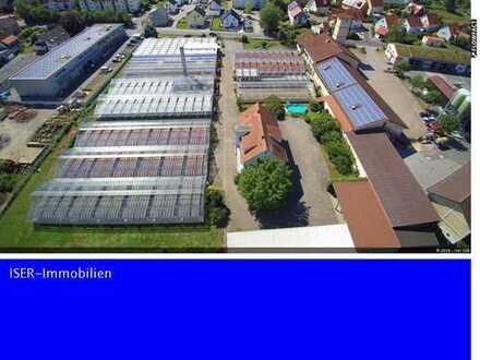 Über 10.400 qm Gewerbefläche mit Wohn- und Geschäftshaus