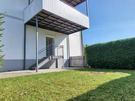 Tolle 3-Zimmer-Wohnung mit Terrasse und Garten