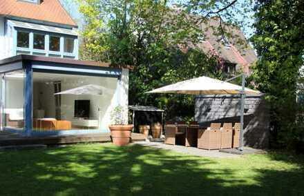 Individuelle 3-Zimmer-Wohnung mit einem herrlich idyllischen Garten