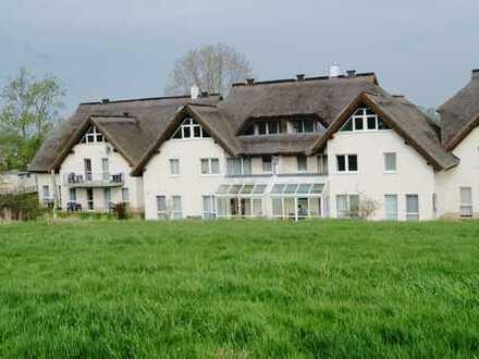 Attraktive 2-Zimmer-Dachgeschosswohnung mit Balkon in Lobbe