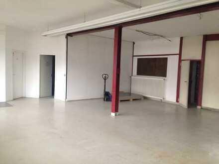 383 qm flexibel nutzbare Gewerbefläche, freundliche Büroräume mit Hallenbereich