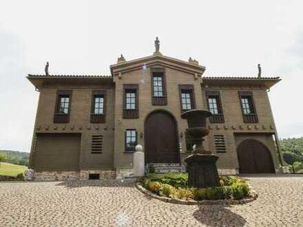 Repräsentative, voll möblierte Landhaus-Villa im Bauhaus-Stil mit Whirlpool, Sauna und Schwimmteich