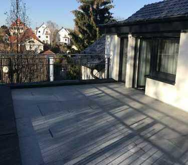 Pendler aufgepasst!! voll möblierte 3Zi.-DG-Whg. mit große Terrasse mitten in Ludwigsburg