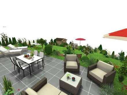 Haus im Haus: exklusive Neubauwhg mit 300 m² Garten in Traumlage!