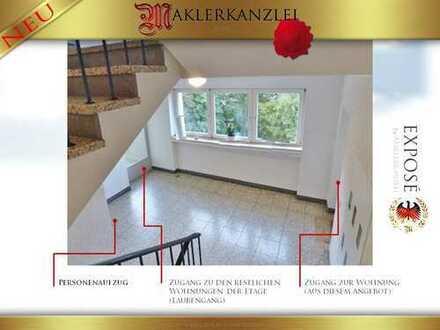 +++ NEU +++ Seltene 4 Zimmerwohnung mit Balkon. Toller Ausblick bis zum Dom aus 5. Etage (mit Lift)
