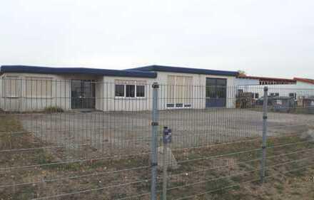 Halle-Oppin - sofort frei - gepflegte Gewerbeimmobilie