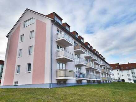 Zuverlässig vermietete 2-Raum-Wohnung mit Balkon und Stellplatz in Hainichen!