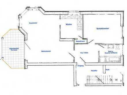 Preiswerte 2-Zimmer-EG-Wohnung mit Terrasse und Einbauküche in Bad Nenndorf