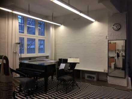 Übungsstudio/ musikalisches Übungsraum/ Bürofläche