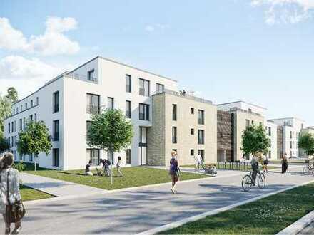 NEUBAU 3 Zimmer Wohnung mit großer Terrasse und Mietergarten zum 01.10.2020
