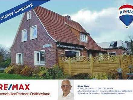 Herrliches Wohnhaus mit Ferienwohnungen auf der Nordseeinsel Langeoog