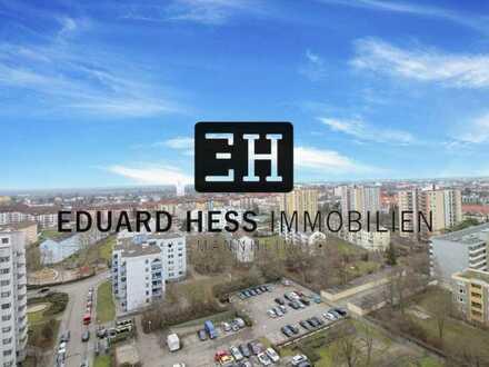 ++ PANORAMABLICK in FT: helle und gepflegte Studiowohnung mit großem Balkon und PKW-Stellplatz ++