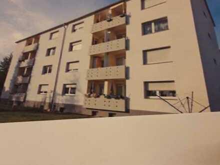 Sanierte 1-Raum-Wohnung mit Balkon und Einbauküche in Bötzingen