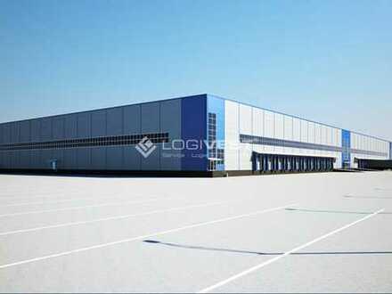 Projekrierter Neubau einer Lager-und Produktionshalle