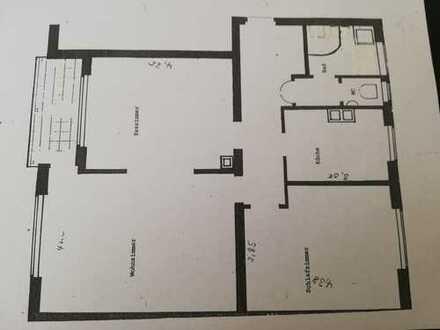 Modernisierte Wohnung mit drei Zimmern sowie Balkon und Einbauküche in Heidelberg