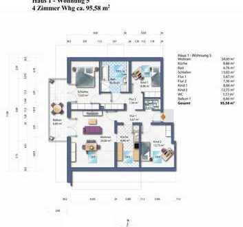 Haus 1 Whg. 5 Dachgeschoss Wohnung