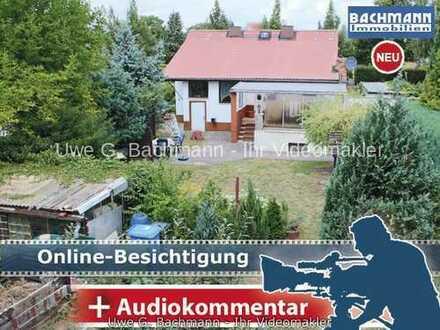 Vogelsdorf / Fredersdorf: Wohnbaugrundstück mit Abrisshaus auf ca.885m² Grundstück-UWE G. BACHMANN