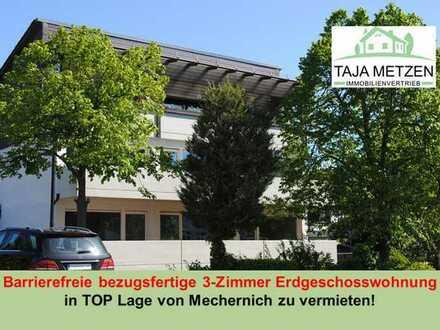 Barrierefreie bezugsfertige 3-Zimmer Erdgeschosswohnung in TOP Lage von Mechernich zu vermieten!