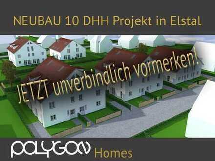 Neubauprojekt Elstal 10 DHH - jetzt vormerken!