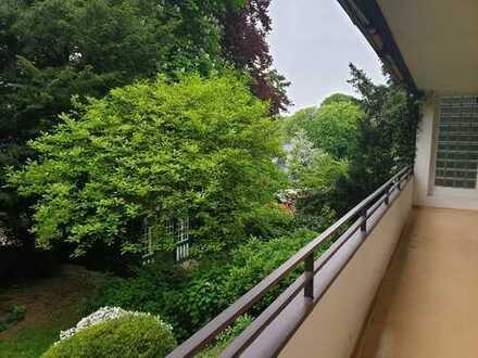 BIK: Beliebtes Zooviertel! Helle 3 Zimmer-Wohnung mit Sonnenbalkon und lauschigem Garten!
