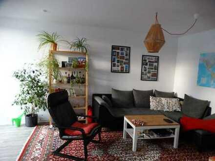 Schöne 2-Zimmer-Maisonette-Wohnung mit Balkon und Einbauküche in Bayreuth