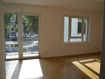 Gut geschnittene 3-Zimmer-Neubauwohnung mit 2 Balkonen an der Alsterkrugchaussee gelegen