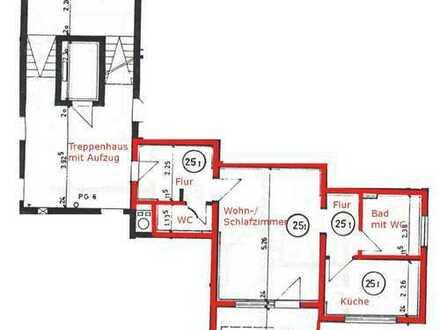 Schöne 1-Zimmer-Wohnung mit Balkon und EBK in Oberderdingen