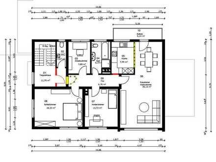 Modernisierte 4-Zimmer-Wohnung mit Balkon in Unna