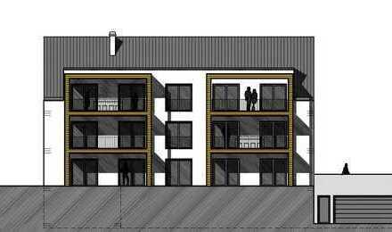 Neubau: Großzügige Drei-Zimmer-Wohnung!